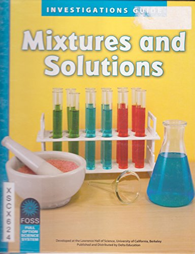 9781609026820: Mixtures and Solutions Investigations Guide