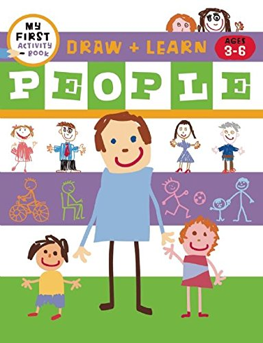 9781609052188: Draw + Learn: People (My First Activity Book: Draw + Learn)