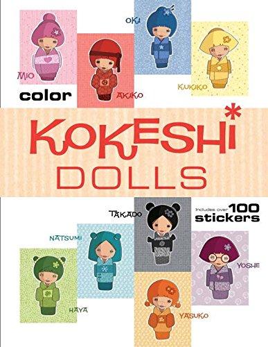 Kokeshi Dolls Coloring Book: Jessica Secheret