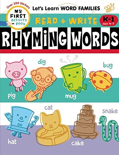 9781609053352: Read + Write: Rhyming Words (My First Activity Book: Read + Write)