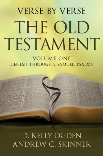 9781609075910: Verse By Verse the Old Testament, Volume 1