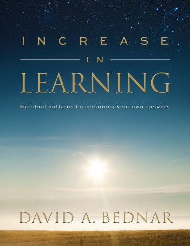 9781609089436: Increase in Learning - Spiritual Patterns for Obtaining Your Own Answers