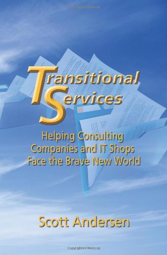 9781609119959: Transitional Services: Helping Consulting Companies and It Shops Face the Brave New World