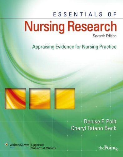 9781609130046: Essentials of Nursing Research, International Edition : Appraising Evidence for Nursing Practice