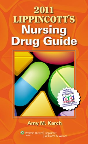9781609132347: 2011 Lippincott's Nursing Drug Guide Canadian Version with Web Resources