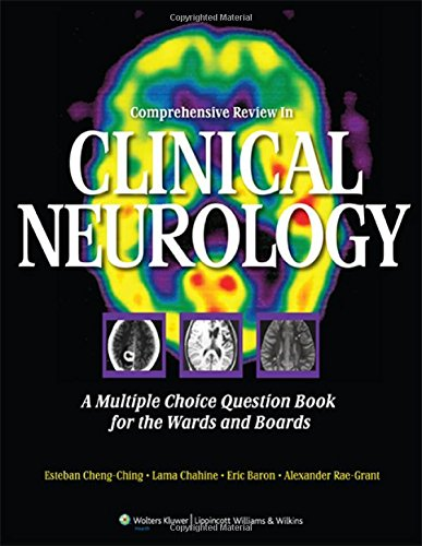 9781609133481: Comprehensive Review in Clinical Neurology: A Multiple Choice Question Book for the Wards and Boards