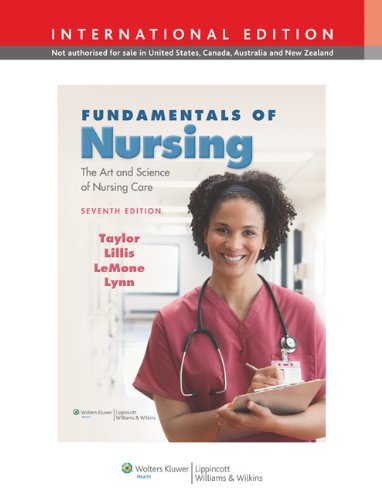 9781609133658: Fundamentals of Nursing: The Art and Science of Nursing Care. by Carol Taylor ... [Et Al.]