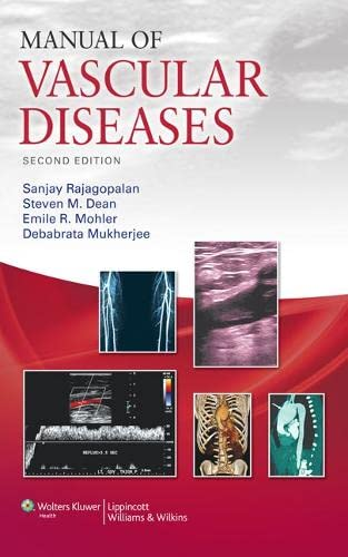 9781609134228: Manual of Vascular Diseases