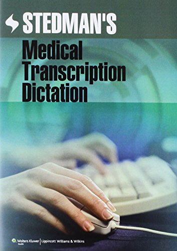 9781609134433: Stedman's Medical Transcription Dictation on CD-ROM