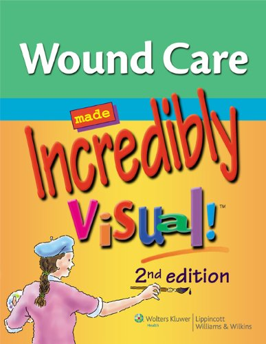 9781609136208: Wound Care Made Incredibly Visual! (Incredibly Easy! Series)