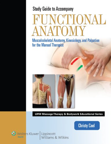 9781609136857: Student Workbook for Functional Anatomy: Musculoskeletal Anatomy, Kinesiology, and Palpation for Manual Therapists (LWW Massage Therapy and Bodywork Educational Series)