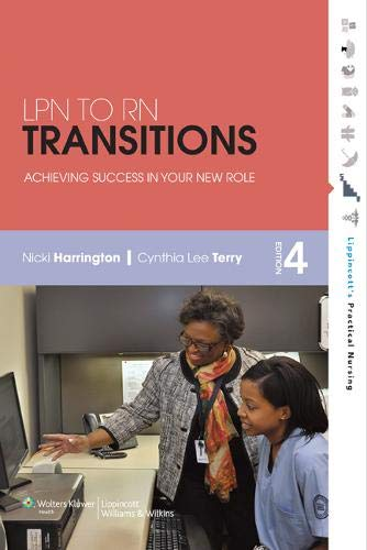 9781609136918: LPN to RN Transitions: Achieving Success in Your New Role