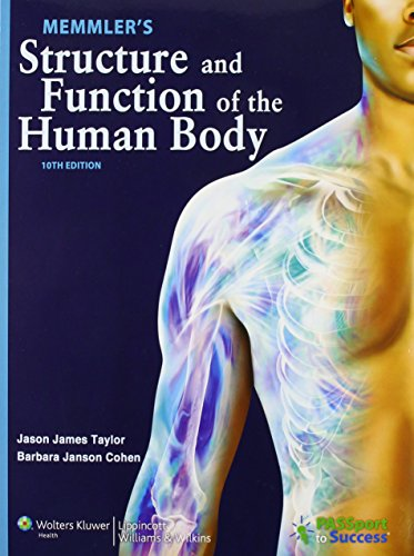 9781609139032: Memmler's Structure and Function of the Human Body, 10th Edition Text and Study Guide Package