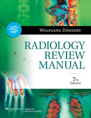 9781609139438: Radiology Review Manual (Dahnert, Radiology Review Manual)