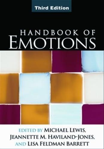 9781609180447: Handbook of Emotions, Third Edition