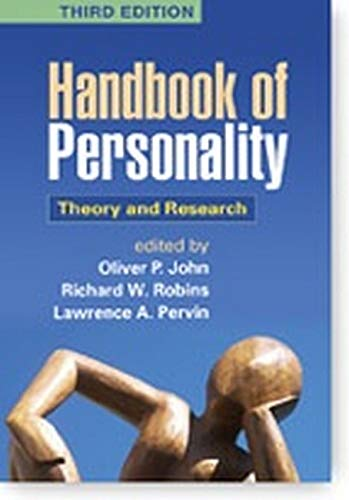 9781609180591: Handbook of Personality, Third Edition: Theory and Research