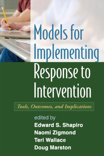 Models for Implementing Response to Intervention (Hardcover): Edward S. Shapiro