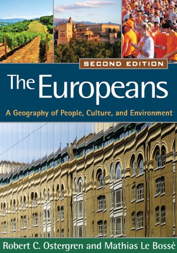 9781609181406: The Europeans, Second Edition: A Geography of People, Culture, and Environment (Texts in Regional Geography)