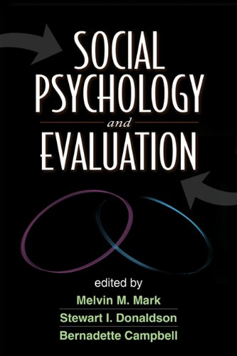 9781609182120: Social Psychology and Evaluation