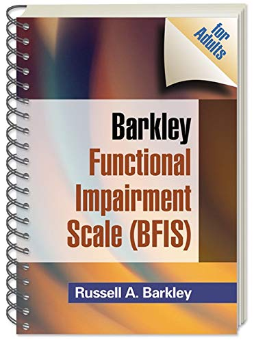 9781609182199: Barkley Functional Impairment Scale (BFIS for Adults)