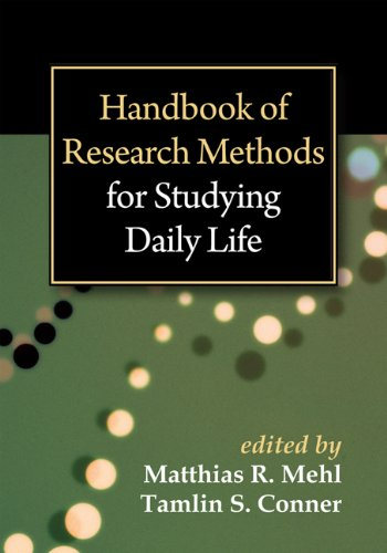 9781609187477: Handbook of Research Methods for Studying Daily Life