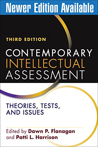 9781609189952: Contemporary Intellectual Assessment, Third Edition: Theories, Tests, and Issues