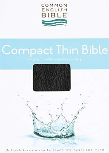 CEB Common English Compact Thin Bible Bonded: Common English Bible