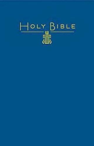 9781609260675: CEB Common English Large Print Pew Bible Blue PCUSA emblem: PCUSA Emblem, Blue