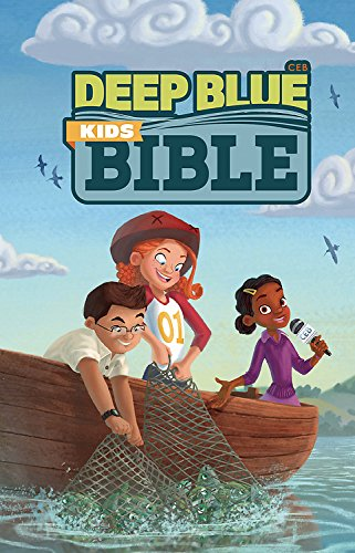 CEB Deep Blue Kids Bible Bright Sky Paperback: Common English Bible