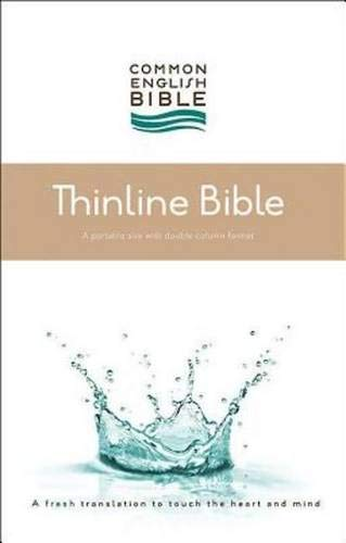 CEB Common English Thinline Bible, Hardcover: Common English Bible