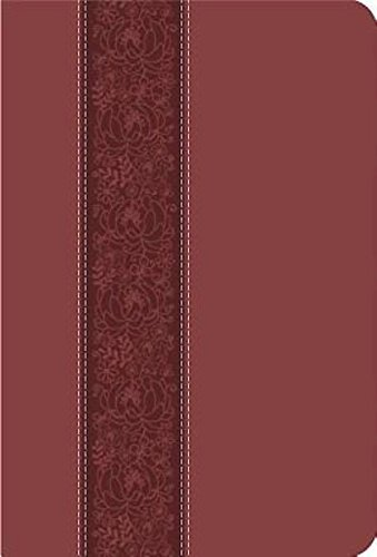 Holy Bible: Common English Bible, Cinnamon Bloom, Decotone Imitiation Leather, Thinline