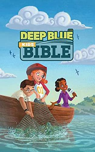 CEB Deep Blue Kids Bible Bright Sky Hardcover: Common English Bible