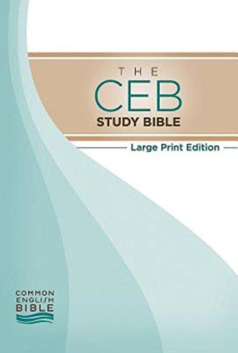 9781609261764: The CEB Study Bible Large Print