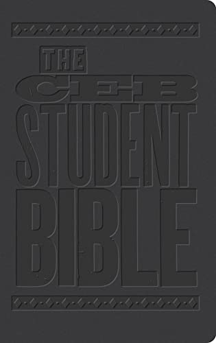 The Ceb Student Bible Black Decotone (Imitation Leather)