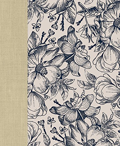 9781609262075: Ceb Wide-Margin Navy Floral Bible: For Journaling and Note-Taking