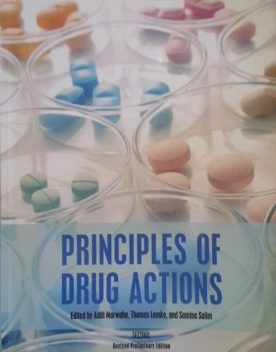Principles of Drug Actions: Marwaha, Aditi; Lemke,