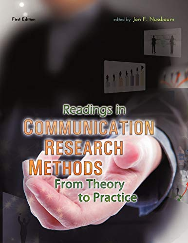 9781609275853: Readings in Communication Research Methods: From Theory to Practice