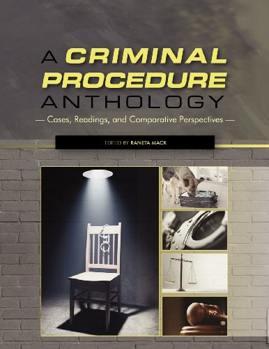 9781609277338: A Criminal Procedure Anthology: Cases, Readings, and Comparative Perspectives