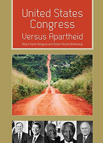 9781609278335: United States Congress Versus Apartheid