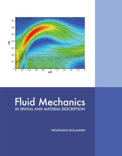 9781609278458: Fluid Mechanics in Spatial and Material Description