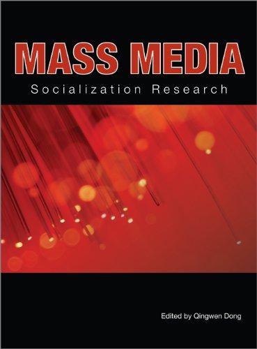 9781609279127: Mass Media Socialization Research