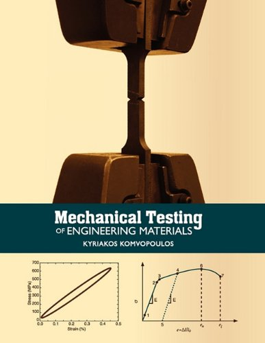 Mechanical Testing of Engineering Materials: Komvopoulos, Kyriakos