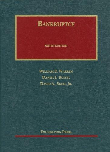 9781609300746: Bankruptcy, 9th (University Casebook) (University Casebook Series)