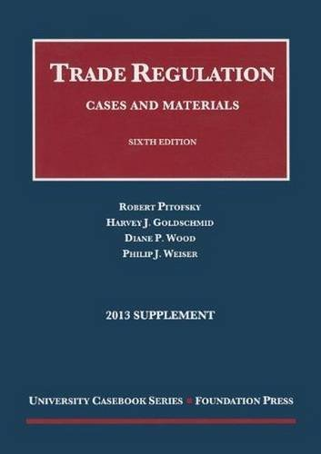 9781609301651: Trade Regulation (University Casebook Series)