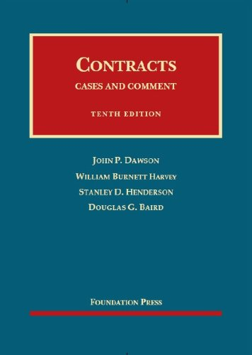 9781609302115: Contracts: Cases and Comment, 10th Edition