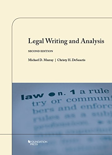 9781609302450: Legal Writing and Analysis (Coursebook)