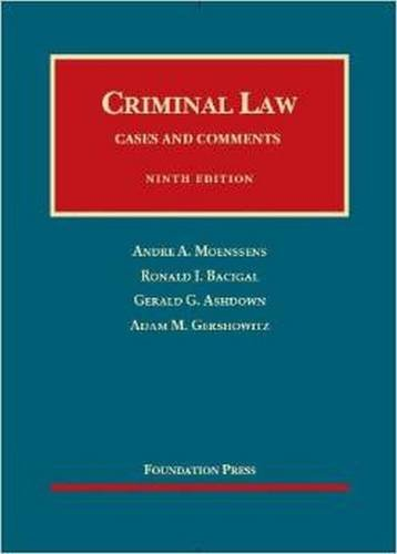 9781609302740: Criminal Law, 9th (Foundation Press) (University Casebooks) (University Casebook Series)