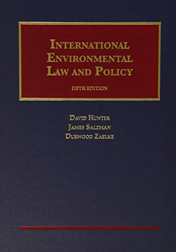 9781609303211: International Environmental Law and Policy (University Casebook Series)