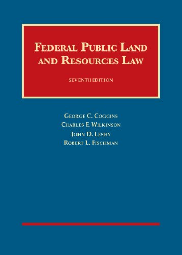 9781609303334: Federal Public Land and Resources Law (University Casebook Series)