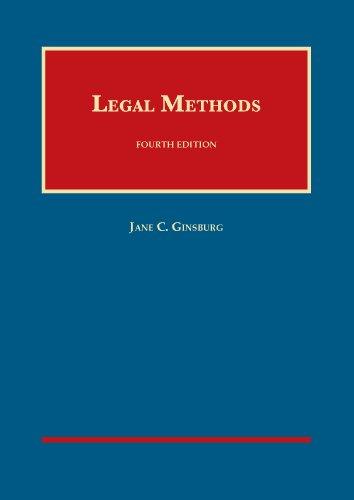 9781609303341: Legal Methods (University Casebook Series)